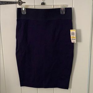 I.N.C. Navy pencil skirt MP NWT